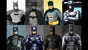 Batman Actors: 1943, 1949, 1966, 1989, 1995, 1997, 2005 ...
