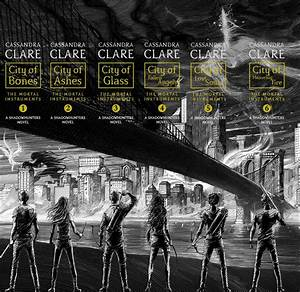 Book Cover Battle: 'The Mortal Instruments' by Cassandra ...