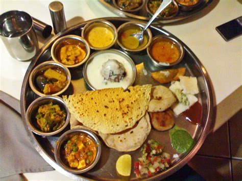 vegetarian dishes stock pictures indian thali typical indian vegetarian meal