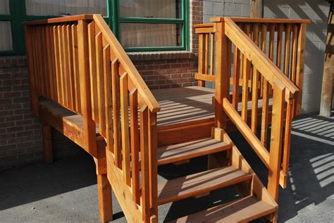 Home Depot Deck Design Pre Planner by Outdoor Deck Stairs To Finish Your Project Quinju