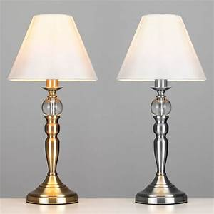 Lampe Touch Dimmer : large chrome antique brass glass ball touch dimmer table lamp bedside lights ebay ~ Yasmunasinghe.com Haus und Dekorationen