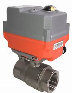 Electric Stainless Steel Ball Valve With Ava Basic