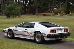 Lotus Esprit Turbo : sold lotus esprit 39 turbo 39 coupe auctions lot 20 shannons ~ Medecine-chirurgie-esthetiques.com Avis de Voitures