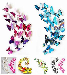 wall decor flowers reviews online shopping wall decor With what kind of paint to use on kitchen cabinets for butterfly wall art 3d