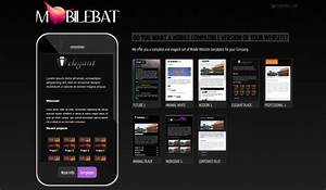 free mobile website template samples mobile website With free mobile site template download