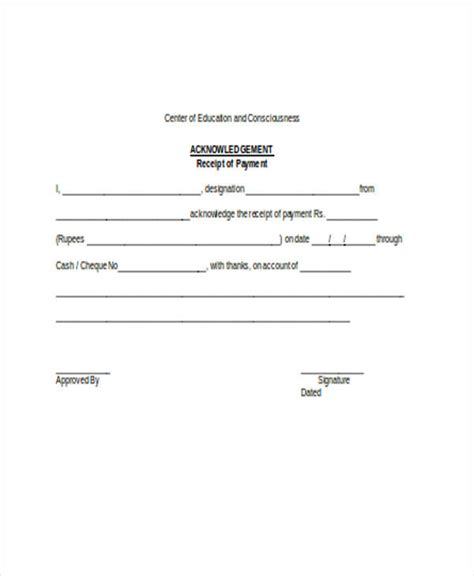 free 24 receipt forms in word doc