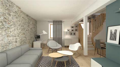 espace bureau dans salon rénovation archives soa architecture intérieure