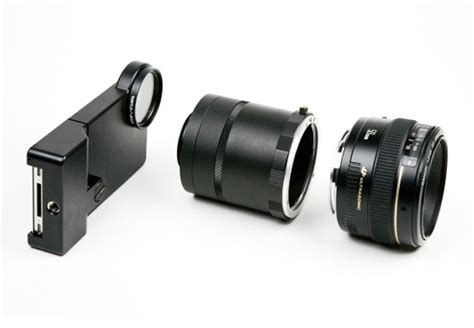 iphone dslr lens adapter enables you to use any dslr lens with your iphone