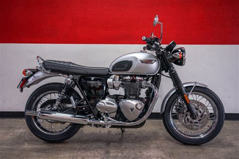 Triumph Bonneville T120 Modification by New 2018 Triumph Bonneville T120 Motorcycles In Ca