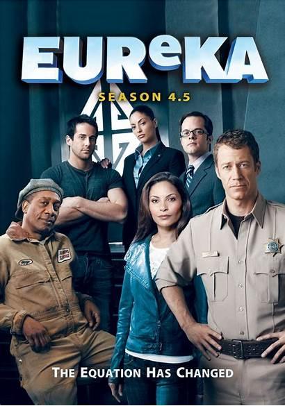 Eureka Season Dvd Tv Series Covers Shows