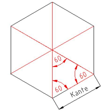 geometrie des sechsecks dachdeckerwiki