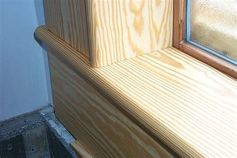 Pine Window Sill by About Pacific Coast Environmental Metrics