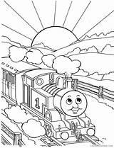 Sunrise Coloring Printable Getcolorings sketch template