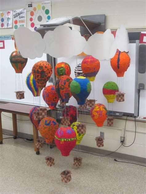 paper mache projects for elementary students use