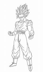 Coloring pages vegeta and goku ssj 2