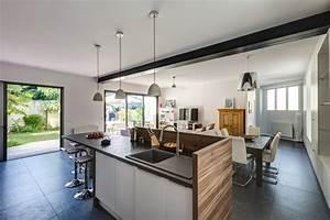 renaissance d39une maison familiale contemporain With charming plan de travail pour exterieur 4 renover une cuisine avec les plans de travail de