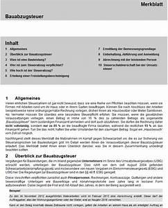 Steuerschuldnerschaft Des Leistungsempfängers Rechnung : bauabzugssteuer merkblatt pr fschema ~ Themetempest.com Abrechnung