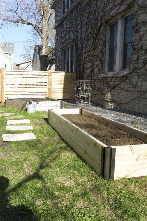 build a raised garden bed gardening basics building a raised bed garden deuce