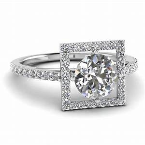 20 styles of square engagement rings that one can never With square shaped diamond wedding rings
