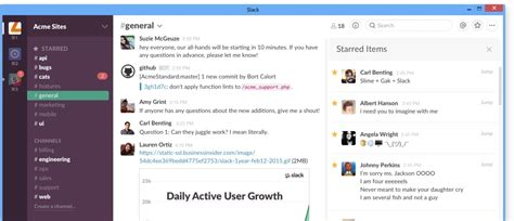 slack ties in with windows 10 s notification center
