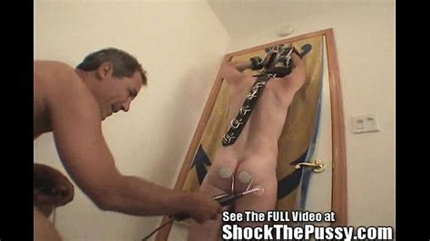 Slut Wife Gets Her Pussy Shocked