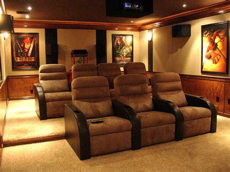 Atractive Home Theater Rooms Decor Ideas