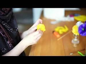Blumen Aus Seidenpapier : bastle dir blumen aus seidenpapier youtube ~ Orissabook.com Haus und Dekorationen