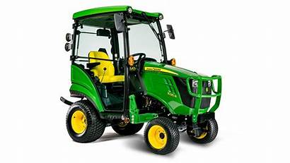 Deere 1025r Tractor John Cab Compact Utility