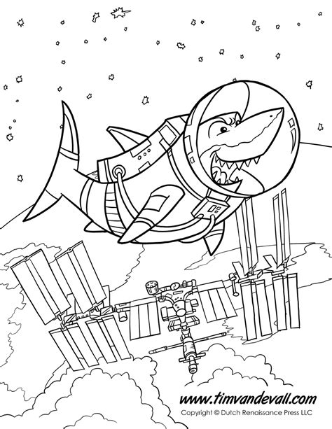 shark  space tims printables