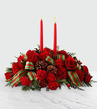 The Ftd® Holiday Classics™ Centerpiece By Better Homes And