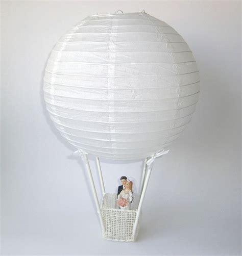 diy aufbau set heissluftballon mit brautpaar einfach