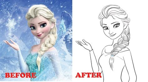 Drawing Pictures Drawing Pictures Of Elsa
