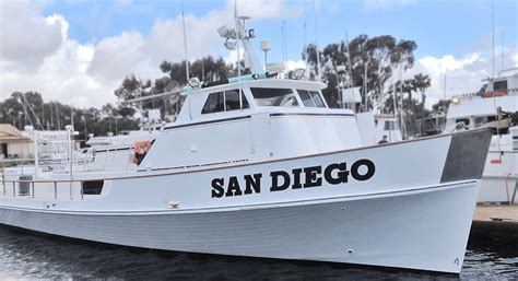 Charter Boat Fishing San Diego by The Boat San Diego Sportfishing