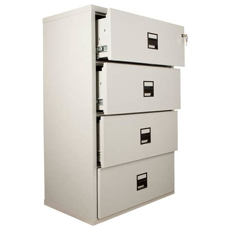fireproof lateral file cabinet fireking lateral mlt4 fire resistant file cabinet