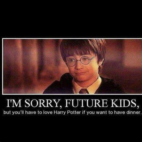 Meme Harry Potter - harry potter memes 017 sorry kids dinner harry potter pinterest the rules so true and