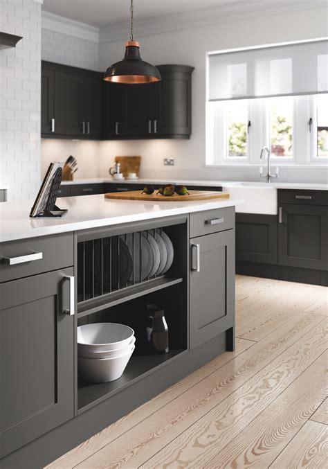 oxford anthracite kitchen doors doors  handles uk