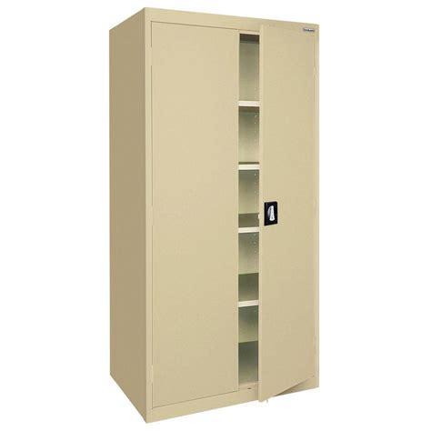 sandusky storage cabinet 72 sandusky elite series 72 in h x 36 in w x 18 in d 5