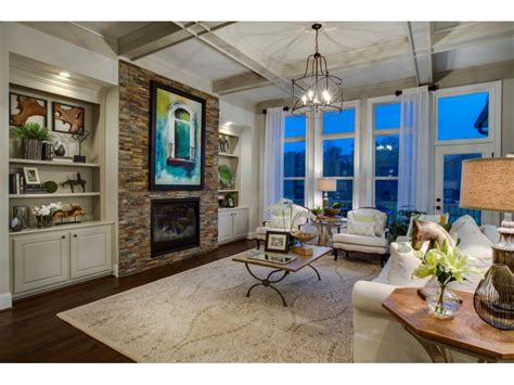 traton homes opens decorated model home   reserve
