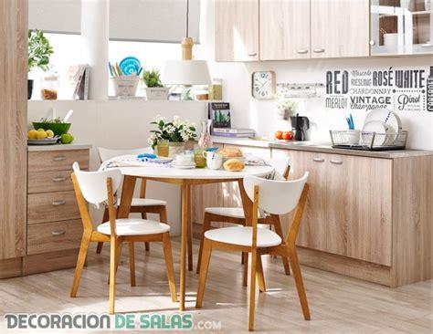 cocinas  comedores juntos en espacios pequenos