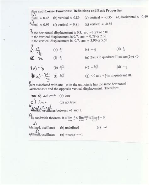 8 5 law of sines form g answer key 5 3 solving trig equations practice worksheet 1
