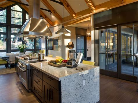 chalet style house plans hgtv home 2014 kitchen pictures and from