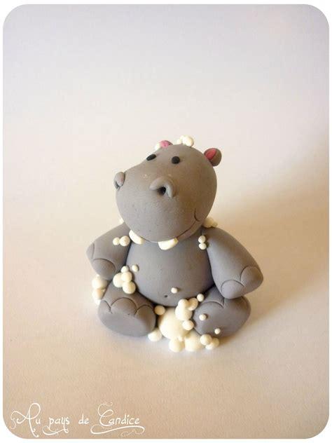 comment faire des figurines en pate a sucre 201 pingl 233 par st 233 phanie da silva correia sur fimo hippopotame fimo et p 226 tes