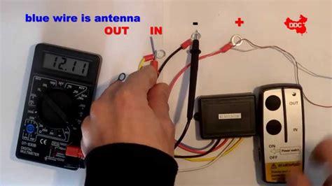 wireless winch remote wiring diagram stylesync   electrical website kanriinfo