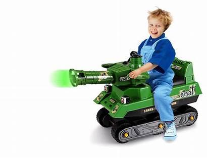 Tank Toy Ride Extra Crazy