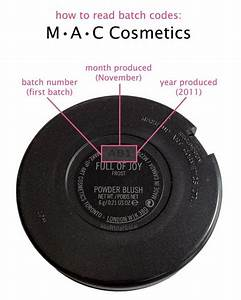 Mac makeup batch codes saubhaya makeup for Cosmetic batch code