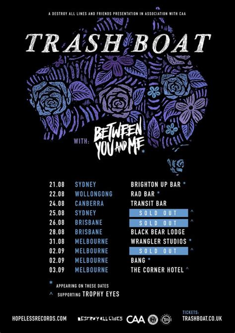 Trash Boat Tring Quarry Mp3 by Trash Boat Announce Australian Headline Tour The Rockpit