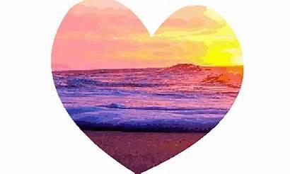 Summer Beach Heart Vibes Hawaii Fun Gifs