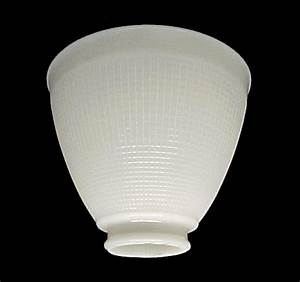 ies 6 in reflector floor table lamp shade white glass shades With floor lamp reflector shade glass