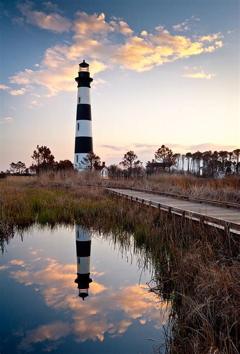 Bodie Island Lighthouse - Cape Hatteras Outer Banks Nc ...