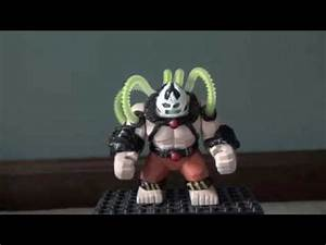 Lego Batman Custom Arkham Asylum Bane Big Fig - YouTube
